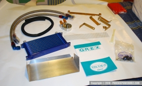 Greddy GREX SW20 Oil Cooler