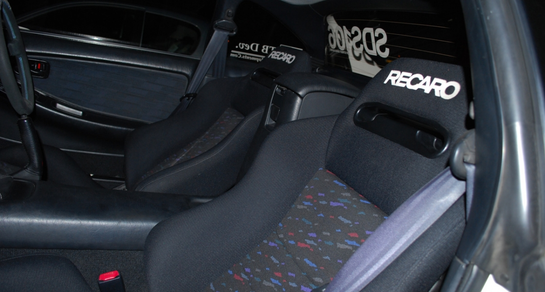Factory Optional Recaro Speed Seats Fitted