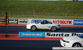 First Quarter Mile Run @ Santa Pod Raceway