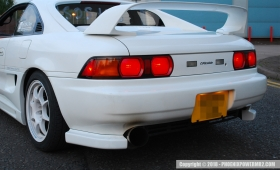 Genuine Greddy Trust Gracer Rear Bumper Spats Fitted