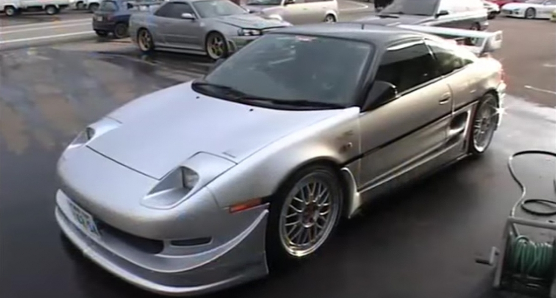 Phoenix Power Demo Car – Silver SW20 MR2