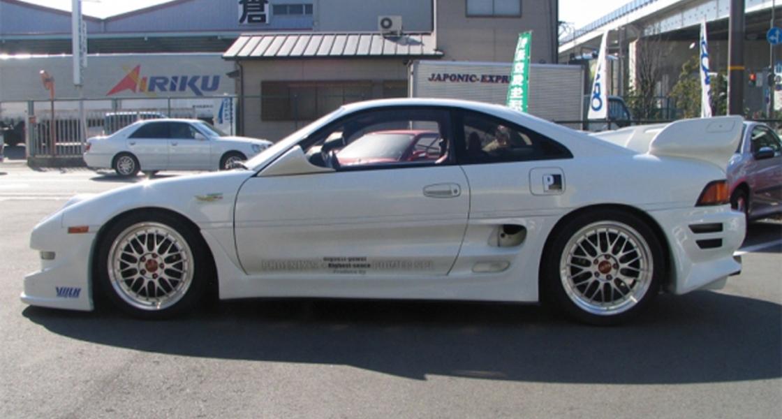 Phoenix Power Demo Car – White SW20 MR2