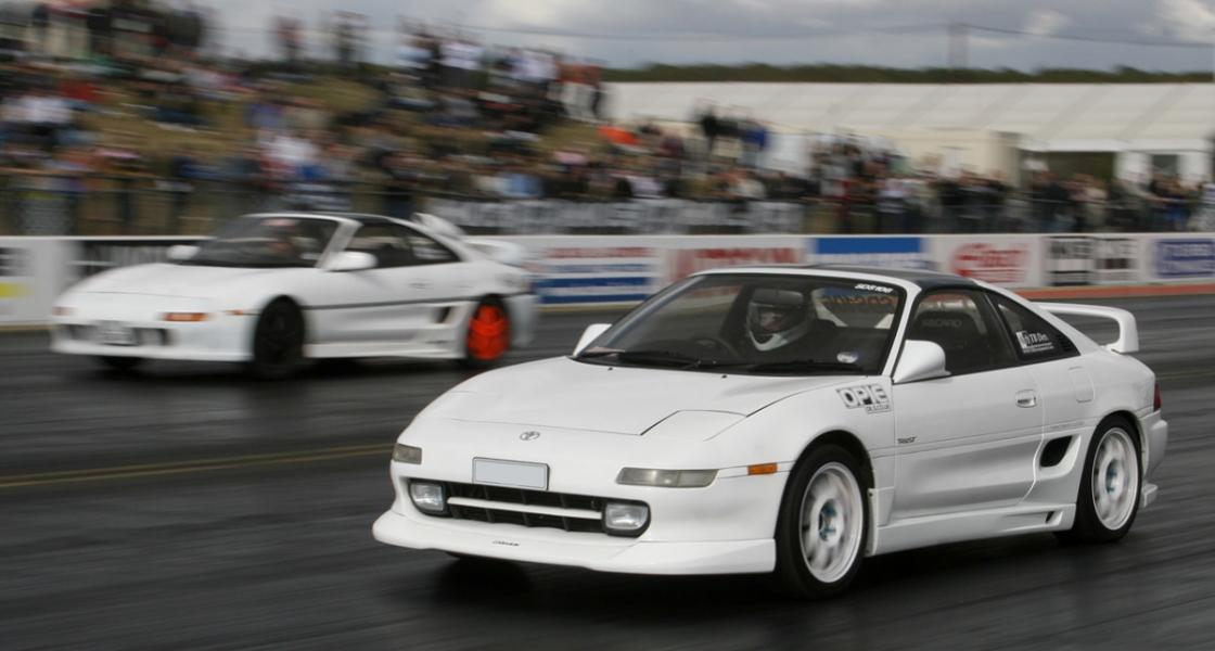Santa Pod Racing with TB Developments Club