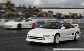 Santa Pod Racing with TB Developments Club