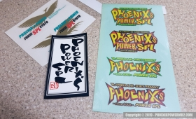 Phoenix's Power SPL Stickers