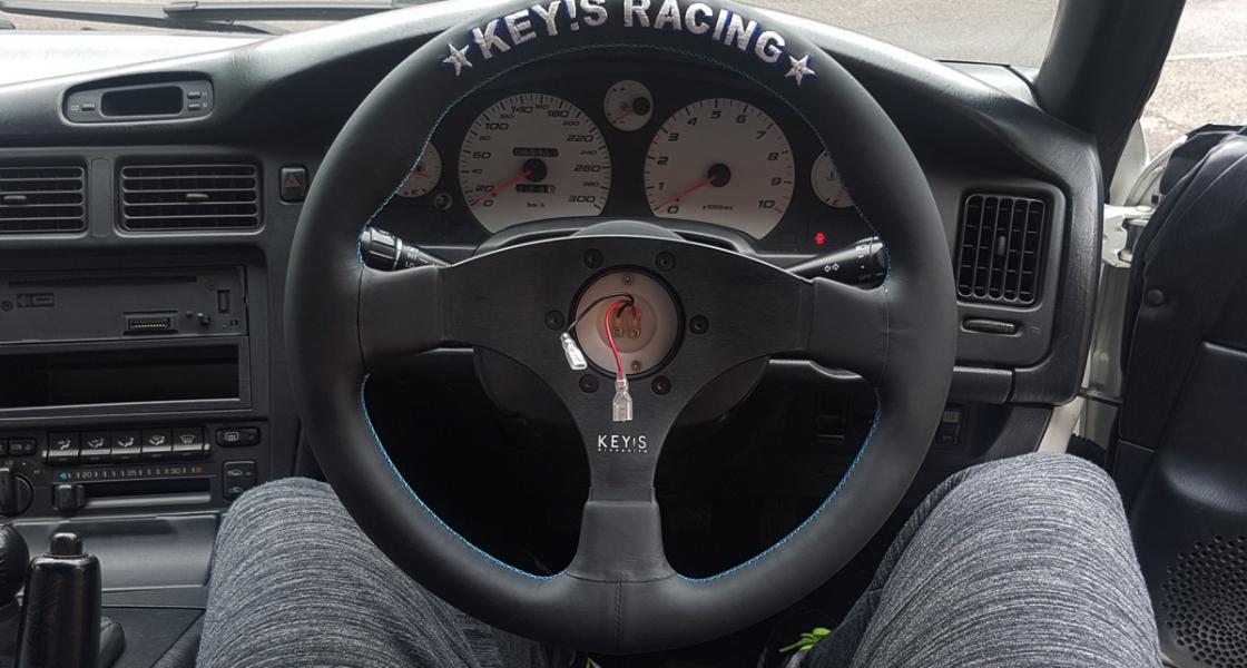 New Keys Racing Steering Wheel & Works Bell Rapfix II Quick Release