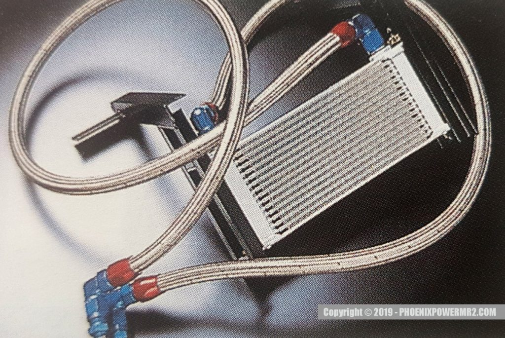 phoenix power spl mr2 sw20 3sgte oil cooler